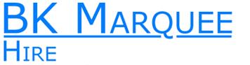 BK Marquee Hire logo